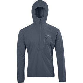 Rab Borealis Pull-On Windbreaker Men, steel